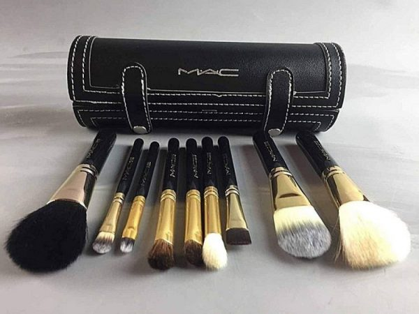 set de brochas de maquillaje mac